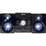 Micro System Lenoxx MD268 70W Entrada USB/Auxiliar CD Player/MP3/Karaokê
