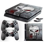 Foto 1 - Adesivo Skin Playstation 4 Fat Justiceiro The Punisher