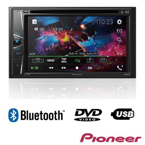 "Foto 1 - DVD Player Automotivo Pioneer 2 Din AVH-G218BT - Tela 6.2"" - USB, Aux e Bluetooth"