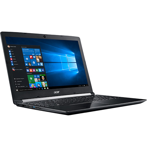 "Foto 5 - Notebook Acer A515-51G-58VH Intel Core I5 8GB (GeForce 940MX com 2GB) 1TB  Tela LED 15.6"" Windows 10 - Preto"