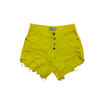 Shorts Jeans Hot Pants Com Cinto Feminino