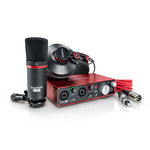 Focusrite Scarlett 2i2 Studio V2 - Interface De Áudio (placa De Som)