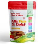 Base P/ Pães E Bolos Mix Pan & Dolci - Herbal Nature - 450grs