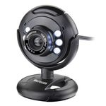 Webcam Plugeplay 16mp Nightvision Mic USB Wc045