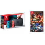 Nintendo Switch 32gb Neon + Sonic Forces